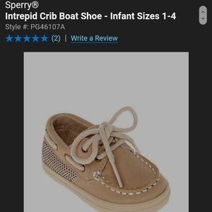 Sperry®  Intrepid Crib Boat Shoe
